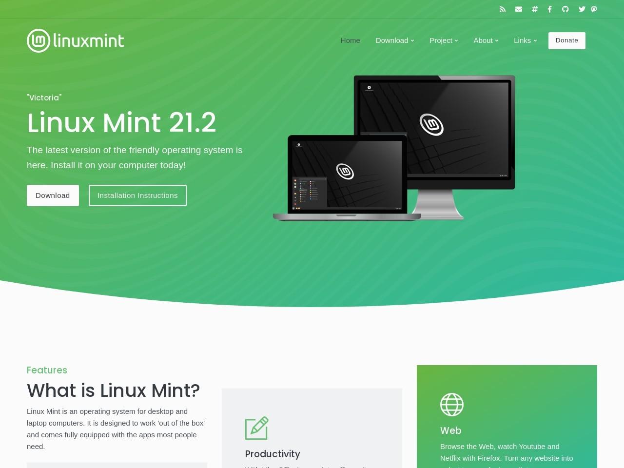 linux mint官网