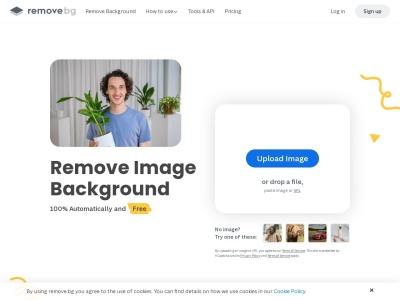 www.remove.bg Screenshot
