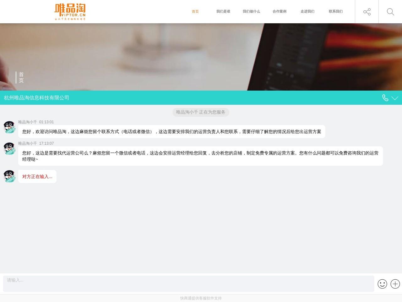 唯品淘_专业电商代运营公司