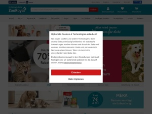 zooroyal Webseite