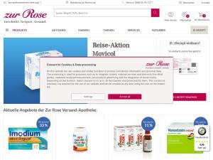 zur-rose Webseite