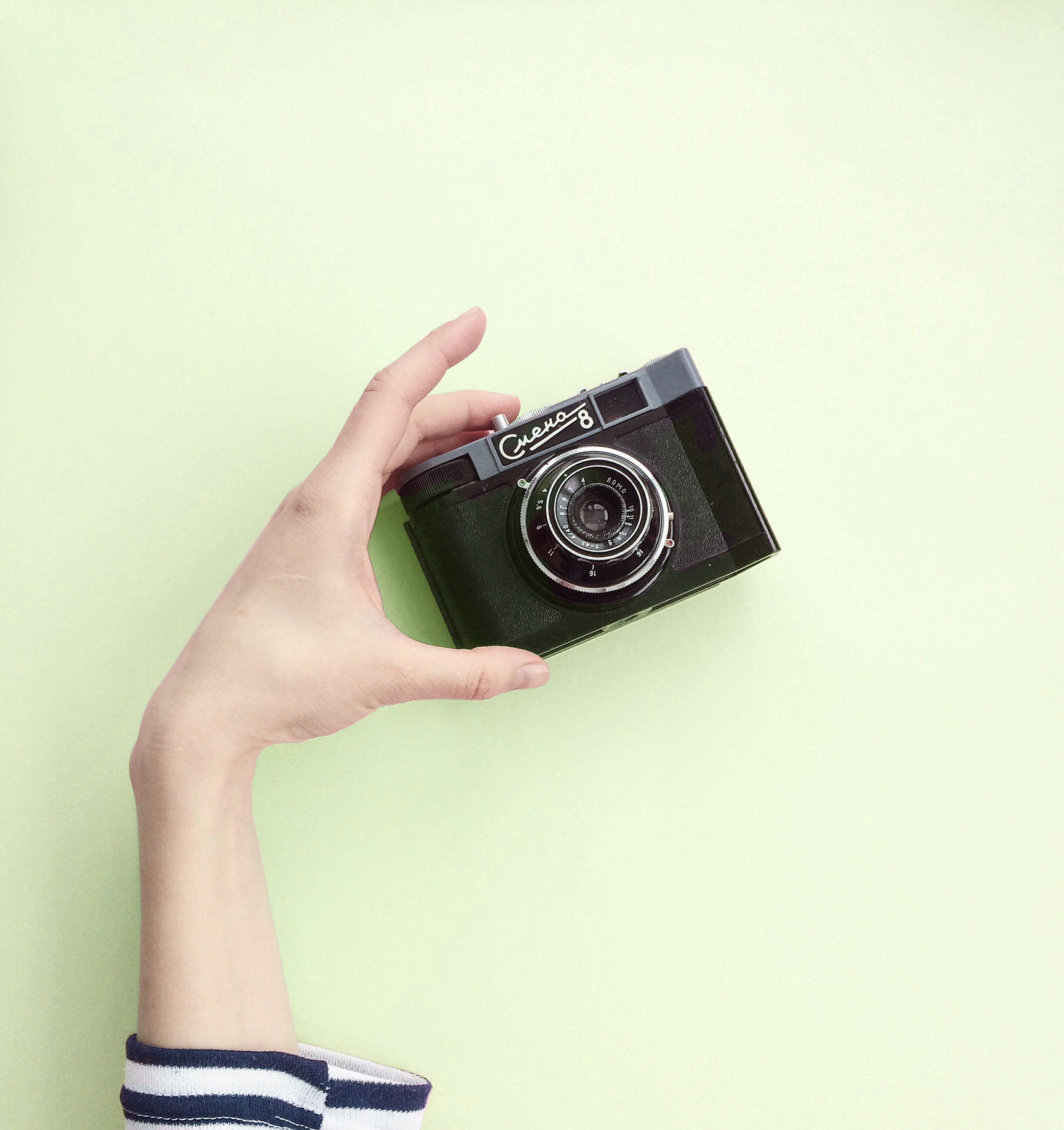 Photo of a vintage camera.