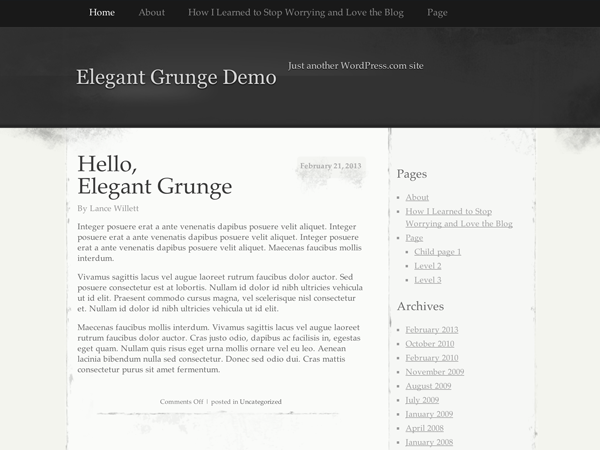 Elegant Grunge