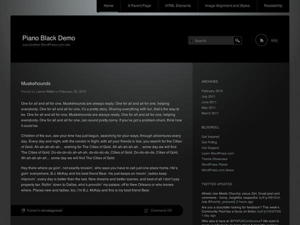 Piano Black
