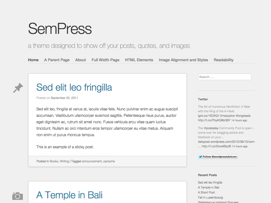 Sempress Theme